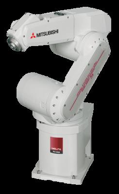 6 osé průmyslové roboty Mitsubishi Melfa RV
