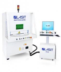 Laserový gravírovací stroj LASIT Rotomark